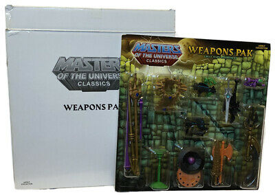 $30 • Buy Masters Of The Universe Classics: Weapons Pak Great Wars Assortment W Mailer