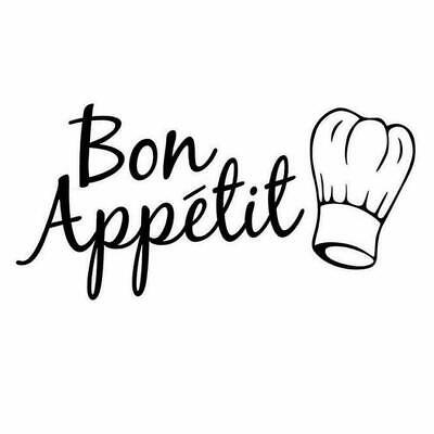 Bon Appetit Kitchen Wall Art Sticker Home Decor, Quality DIY Decal Quotes • 2.99£