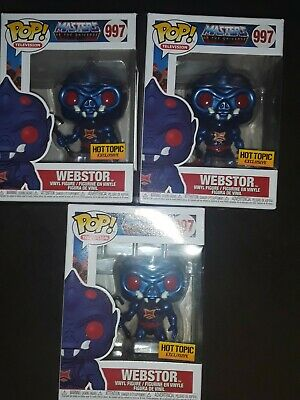 $60 • Buy Funko Pop! Masters Of The Universe Hot Topic Exclusive Lot Of 3