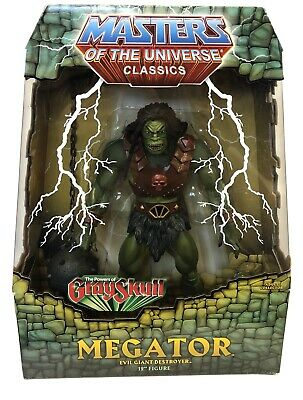 "$45 • Buy Masters Of The Universe Classics Megator 12"" Figure New With Mailer"