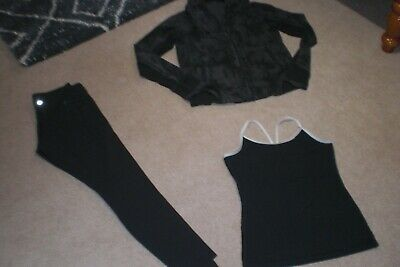 $ CDN82.80 • Buy Lot Of Lululemon Wunder Under Tights, Rare Back To Class Jacket And Tank Sz 10