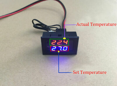AU18.88 • Buy Digital LED Microcomputer Thermostat Controller Switch Temperature Sensor