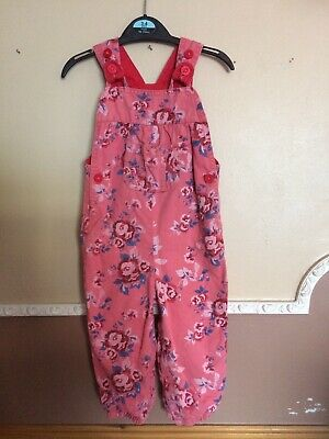 Girls M&s Dungarees 12-18 Months • 4.20£
