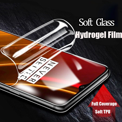 AU4.29 • Buy Screen Protector Hydrogel Film For OnePlus Nord 8 7 6 5 T Pro Protective Film