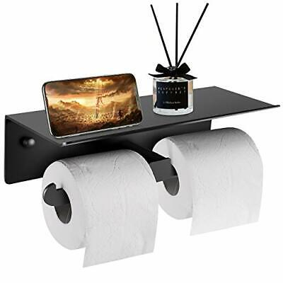 Toilet Roll Holder-Wall Mounted Toilet Roll Holders With Double Rolls For All • 17.14£