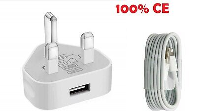 AU9.96 • Buy 100% Genuine CE Charger Plug & USB Data Cable Compatible With IPhone 7 8 XS MAX