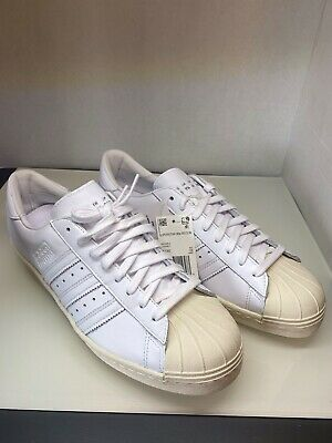 $ CDN29.19 • Buy Adidas Superstar 80's Recon White/Offwhite Sneakers
