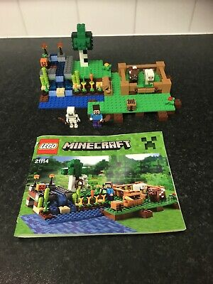 LEGO 21114 Minecraft The Farm Set Complete With Mini Figures And Instructions  • 5.50£