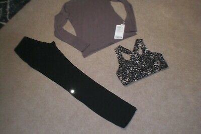 $ CDN99.75 • Buy Lot Of Lululemon Skinny Pants, BNWT Stand Steady Mock Neck Sweater  And Bra Sz 6