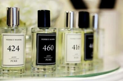 PURE PARFUM FOR HER And HIM 50ML FEDERICO MAHORA  *NEW* 372 , 472 , 18 , 413, 20 • 12.90£