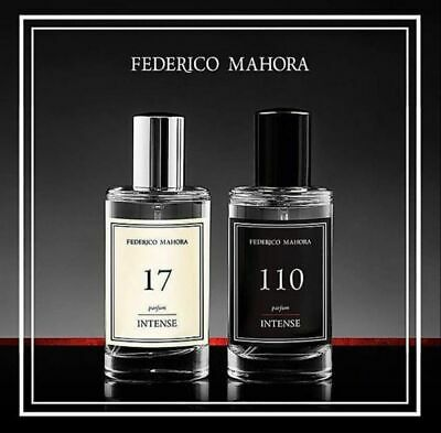 FM Perfumes Intense Collection 50 Ml Pure Perfume 30% Oils New  413 472 21 52 10 • 17.99£