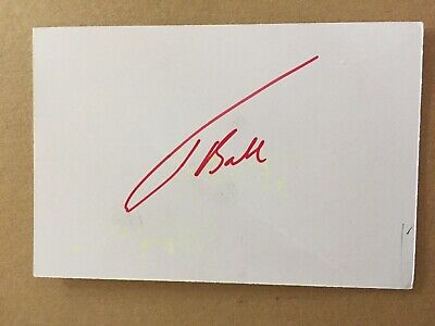 Jake Ball - Wales Rugby Signed Card  • 1.99£