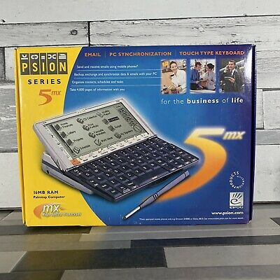 Psion Series 5MX Palmtop Computer PDA Brand New In Box. Rare Collectors Item! • 749.99£