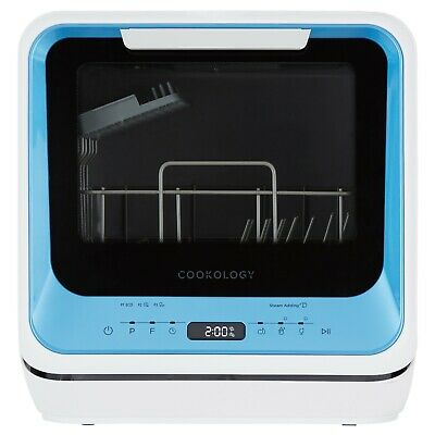 View Details Cookology CMDW2BLUE Mini Table Top Dishwasher With Baby Care & Fruit Wash • 219.99£