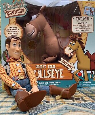 £50 • Buy Disney TOY STORY Bullseye INTERACTIVE SIGNATURE COLLECTOR'S New. Inc Woody FREE