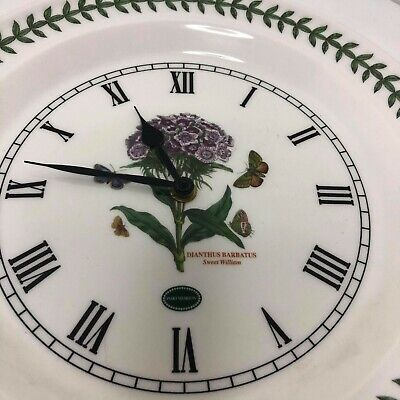 Portmeirion Botanic Garden Sweet William Clock • 19.99£