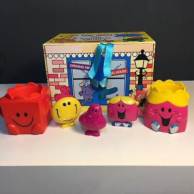 Mr Men Little Miss Books And Assorted Figures Bundle • 16.99£