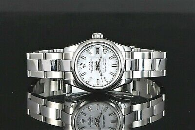 $ CDN5666.95 • Buy Ladie's Rolex 26mm Oyster Perpetual DateJust Stainless Steel Wrist Watch 179160