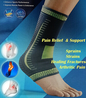 Ankle Plantar Fasciitis Foot Compression Ankle Support Heel, Arch & Ankle Tendon • 3.99£