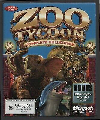 AU100 • Buy Zoo Tycoon Complete Collection (PC Game) 2003 Original Big Box