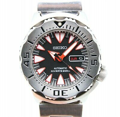 $ CDN932.05 • Buy Seiko Superior SRP313 Dracula Monster Men's 200m Diver Automatic Watch 450203