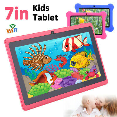 AU85.42 • Buy 7  WiFi Android Tablet PC Quad Core Kids Children Dual Camera Education Gift USB