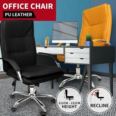 AU139.99 • Buy Gaming Chair Office Computer Racing Chairs PU Leather Executive Recliner Seat