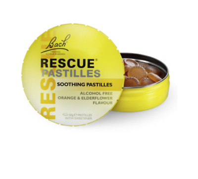 Dr Bachs Rescue Remedy Pastilles Calming Stress Relief Exams Driving Test  • 12.25£
