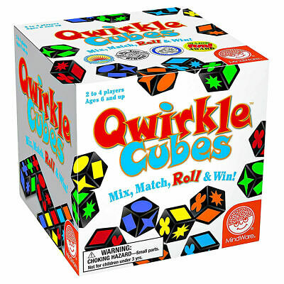 $ CDN39.36 • Buy Qwirkle Cubes - Mix, Match, Roll And Win In The Game Qwirkle Cubes!
