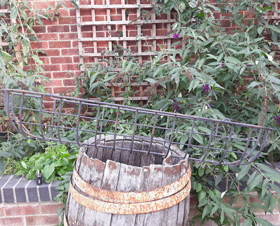 4ft Long Wrought Iron Barley Twist Window Basket Or Planter Frame • 40£