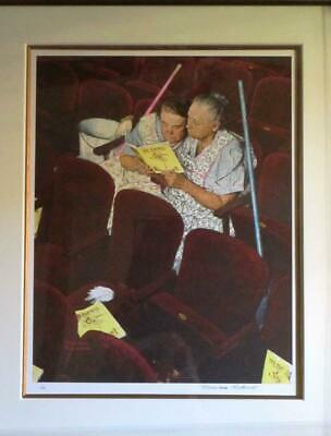 $ CDN2861.09 • Buy Norman Rockwell - Charwomen - Signed & Numbered Lithograph Framed