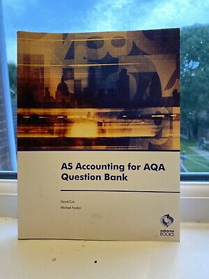 £2 • Buy AS Accounting For AQA Question Bank By David Cox, Michael Fardon (Paperback,...