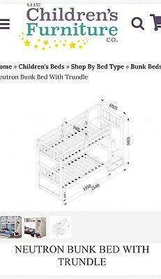 Bunk Bed With Trundle • 350£