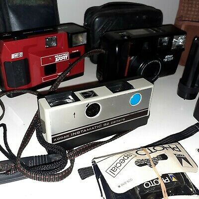 Old Vintage Camera Bundle • 69£