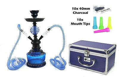 $ CDN65.84 • Buy Tanya* Panther Edition: 2-Hose Sharing Hookah 14  Complete Set Shisha W/Case