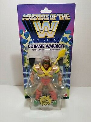 $40 • Buy ULTIMATE WARRIOR Masters Of The WWE Universe Wave 1 Figure MOC New In Package