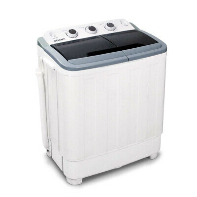 AU171.90 • Buy Devanti 5kg Mini Portable Washing Machine Twin Tub Spin Camping Caravan Outdoor