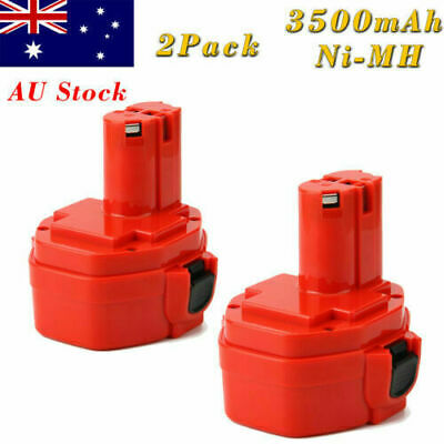 AU29.90 • Buy 2Pack 14.4V 3.5AH Ni-MH Battery For Makita PA14 1420 1422 1433 192600-1 193985-8