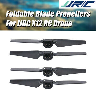 AU14.87 • Buy JJRC X12 FPV Racing RC Drone Quadcopter Spare Part CW & CCW Foldable Propellers