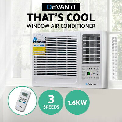AU377.90 • Buy Devanti Window Air Conditioner W/o Reverse Cycle Wall 1.6kW Cooling Only Cooler