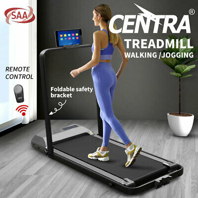 AU309.99 • Buy Centra Electric Treadmill Walking Pad Home Office Gym Exercise Fitness Foldable