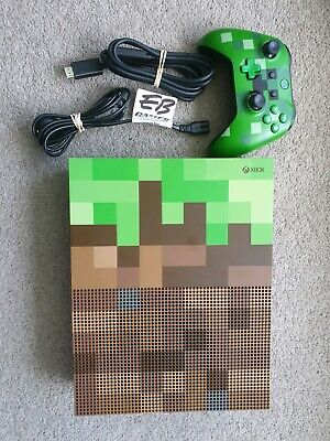 AU600 • Buy Microsoft Console Xbox One S Minecraft Limited Edition Bundle 1TB Green & Brown