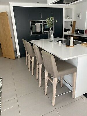 Neptune Shoreditch Kitchen Dining Lounge Bar Stool Seat Chair RRP £370 • 40£