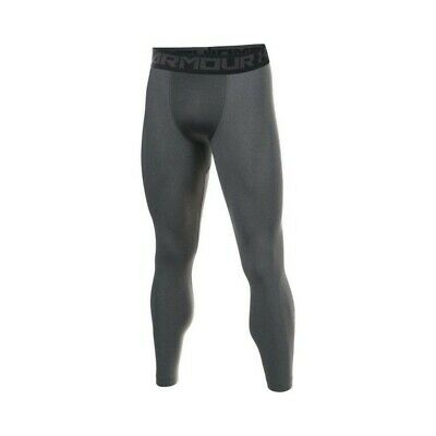 UNDER ARMOUR Mens Grey Heatgear 2.0 Compression Base Layer Leggings XL BNWT • 24.99£