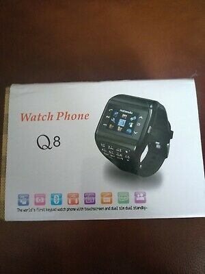 Q8 Smart Watch Mobile Phone Brand New In Box  • 35£