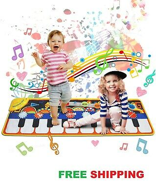 Kids Piano Mat,Toddlers Kids Toys Age 1 2 3 4 5 Year Old Girls Boys Music Dance  • 20.99£