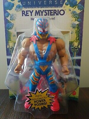 $25 • Buy New Masters Of The WWE Universe Rey Mysterio Action Figure MOTU Free Shipping