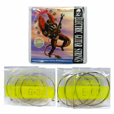 $ CDN6.30 • Buy Alice Electric Guitar String Set 6 Strings Steel & Nickel Alloy Wound .01 -.046