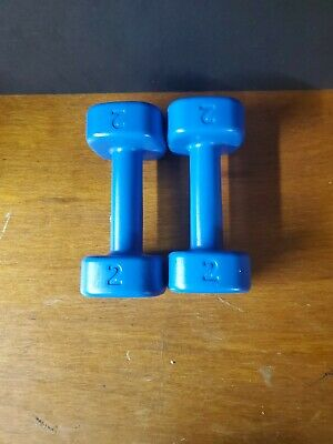 $ CDN6.59 • Buy 2LB Set. Plastic.Dumbbell Weights Fitness - FAST SHIPPING