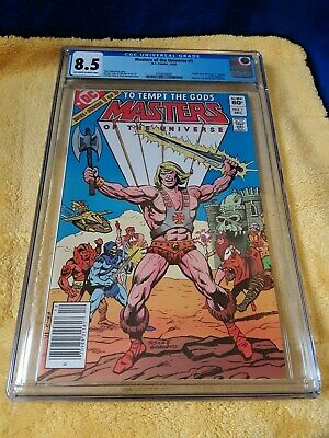 $60 • Buy Masters Of The Universe #1 Cgc Graded 8.5 Off White To White Pages